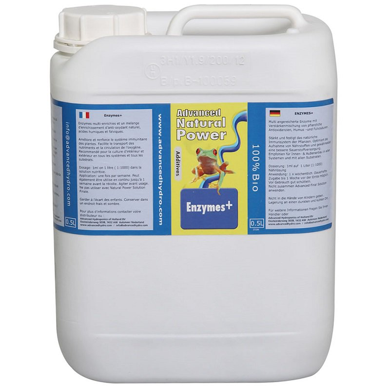 Advanced Hydroponics Enzymes+ Objem: 5l