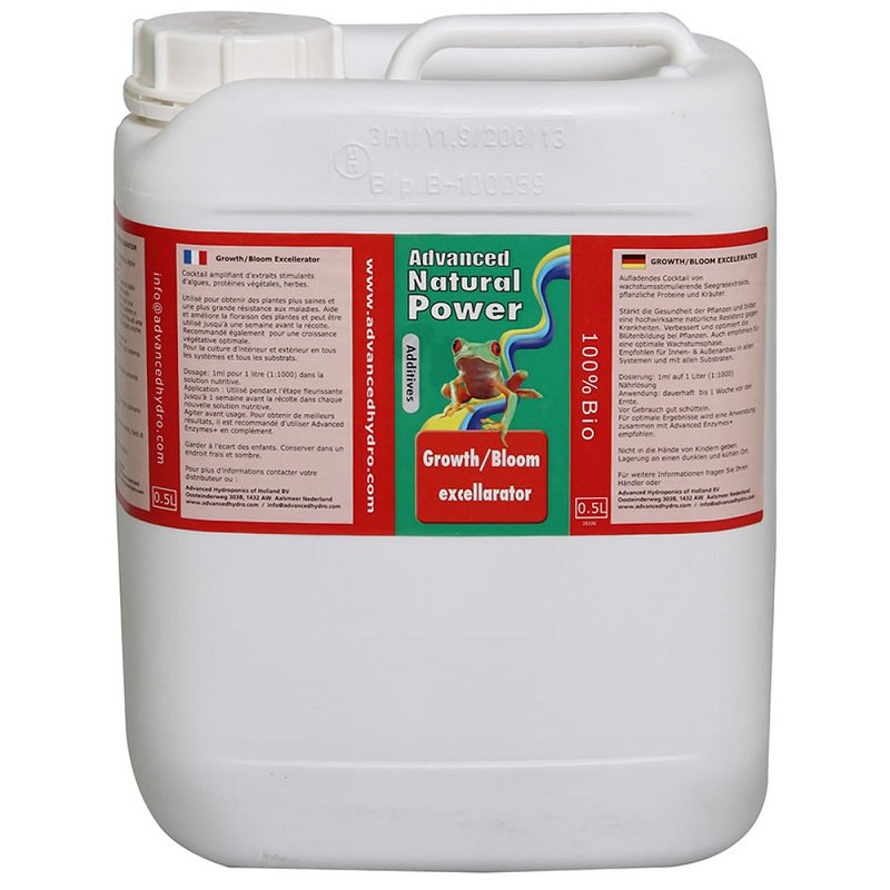 Advanced Hydroponics Growth/Bloom Excellerator Objem: 5l
