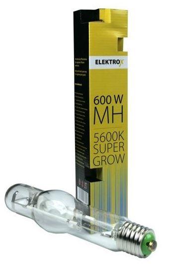 Výbojka ELEKTROX Super Grow MH 600W