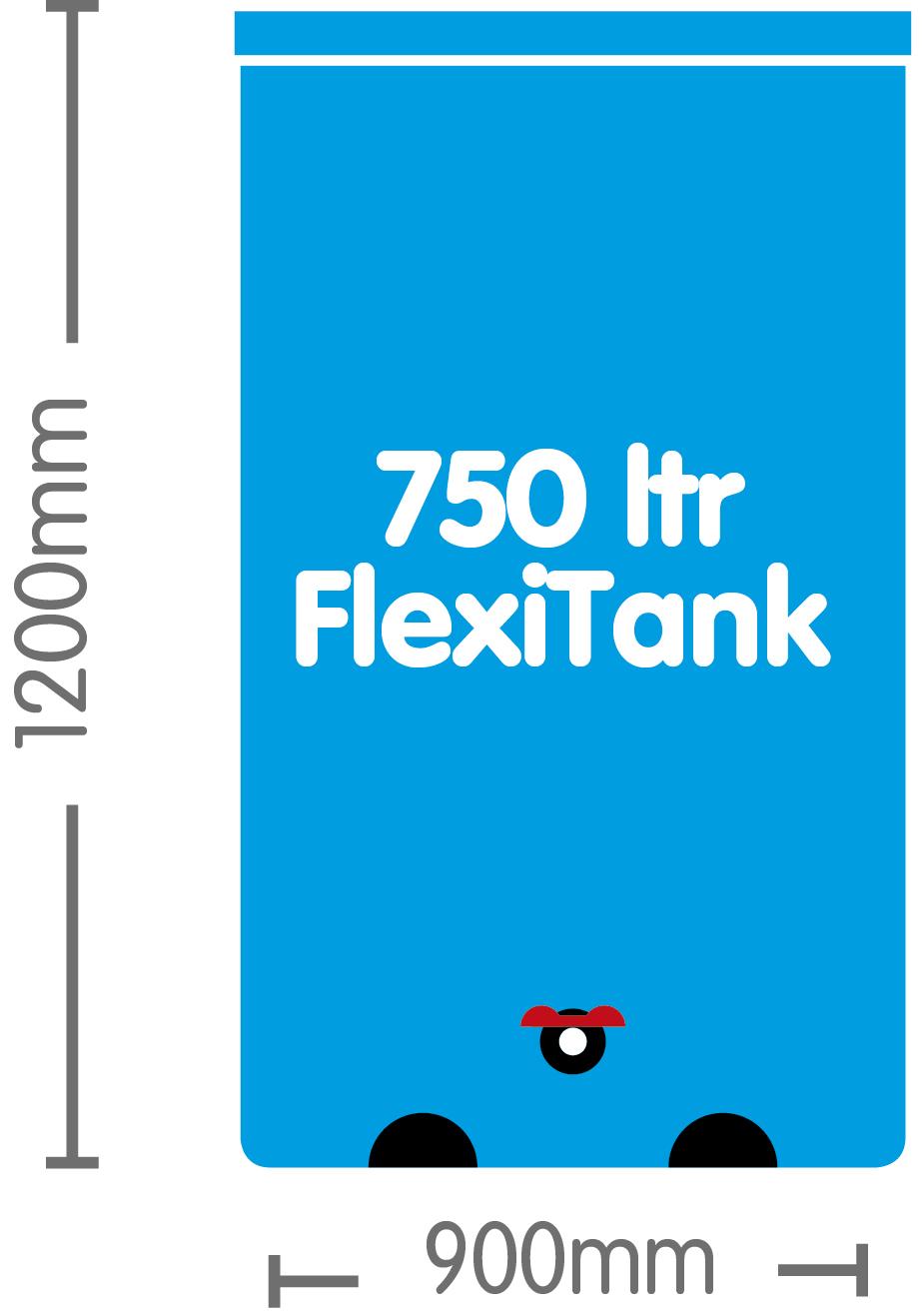 AutoPot Flexitank 750L