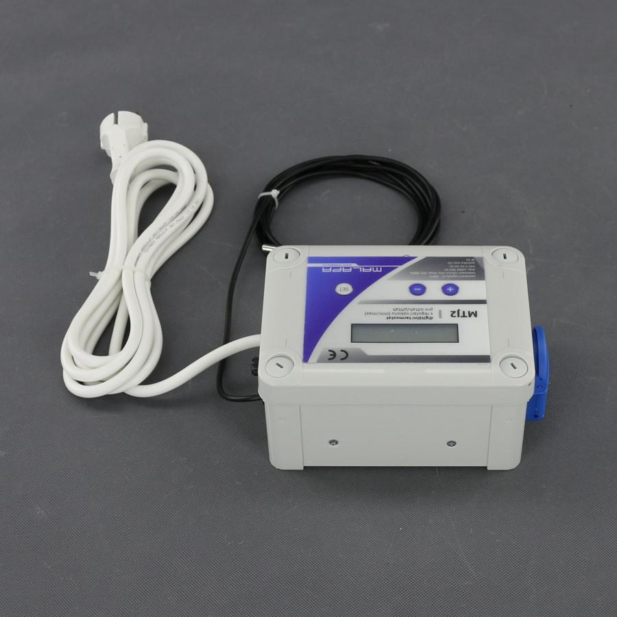 Malapa digitální termostat s regulací výkonu (min a max) pro odtah/ přítah MTJ2
