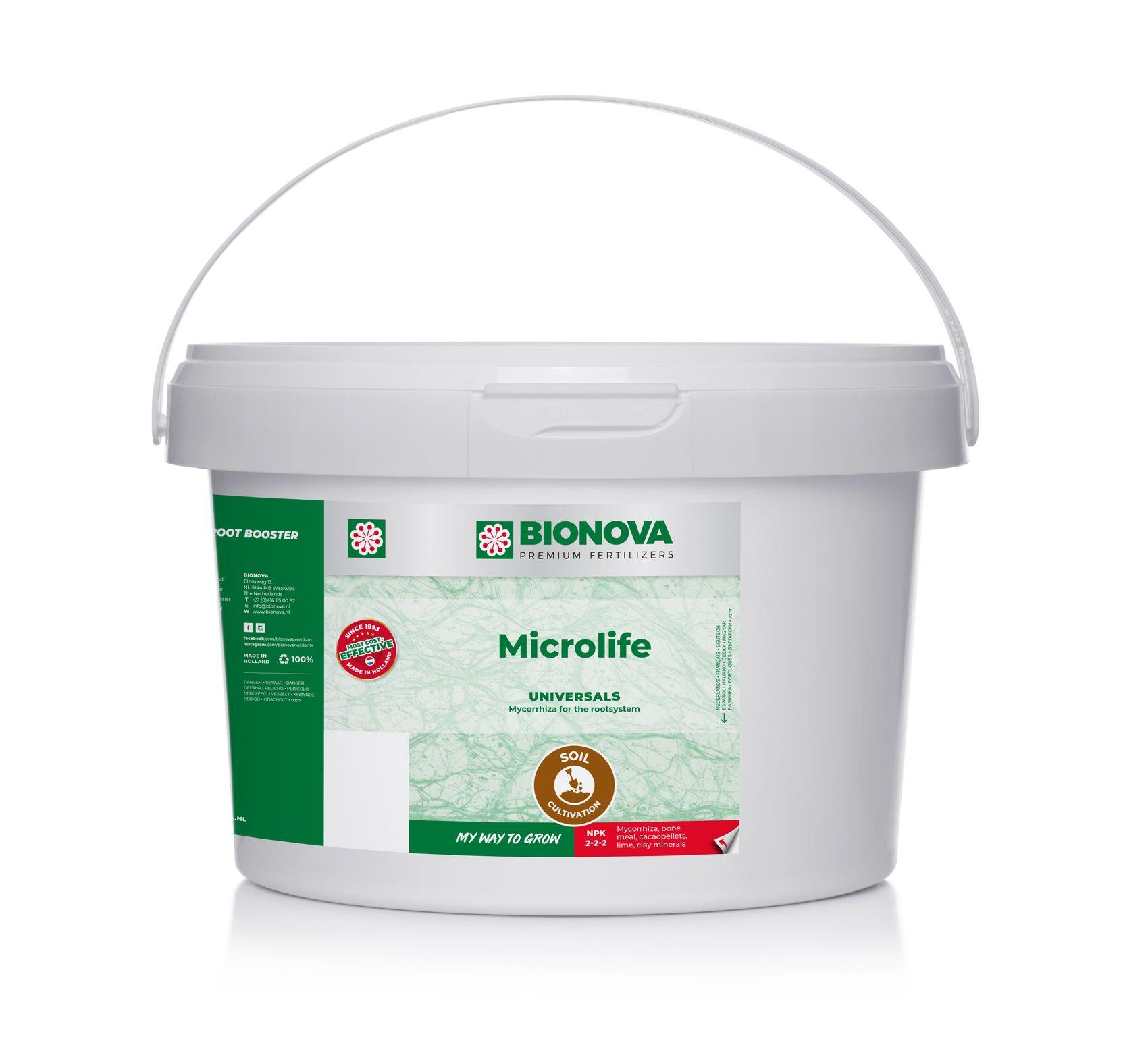 Bio Nova Micro-Life (2 kg. Půdní booster 1-2m3 na nádobku)