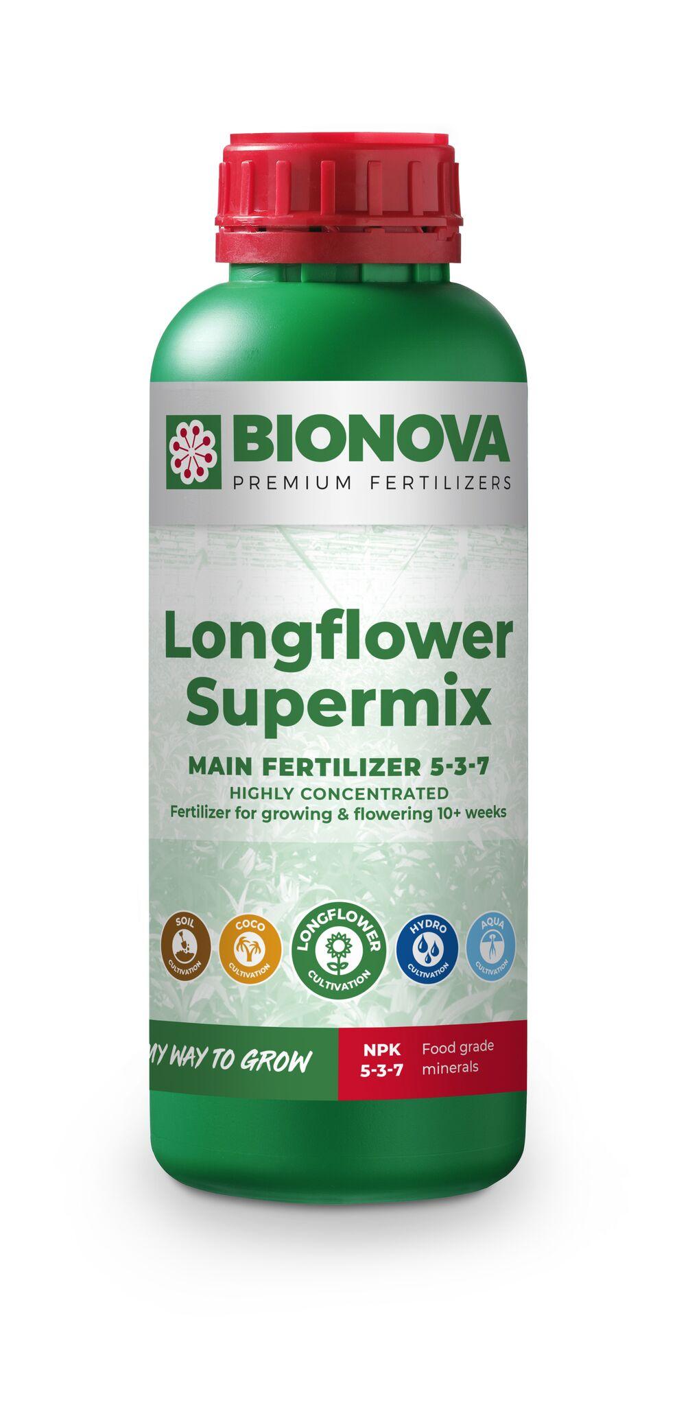 Bio Nova LongFlowering-SuperMix Objem: 1l