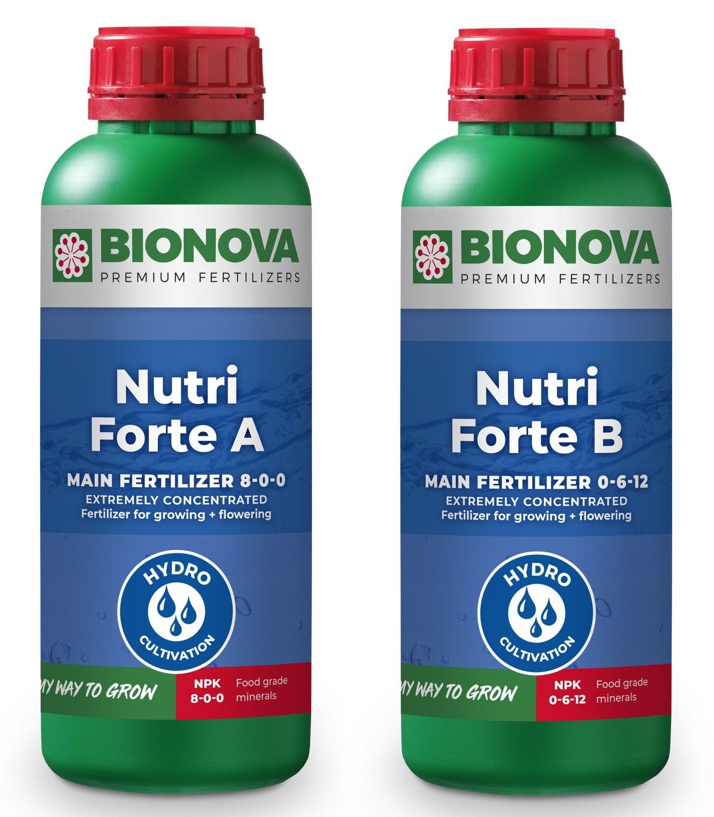 Bio Nova Nutri-Forte A+B Hydro 1l