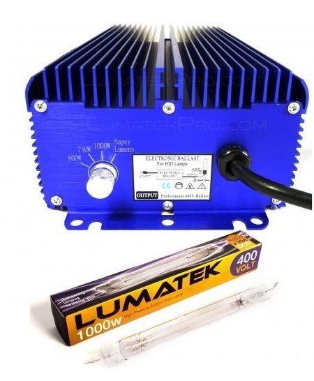 Digitální předřadník Lumatek Ultimate PRO 1000W - 400V + 1000W 400V LUMATEK výbojka