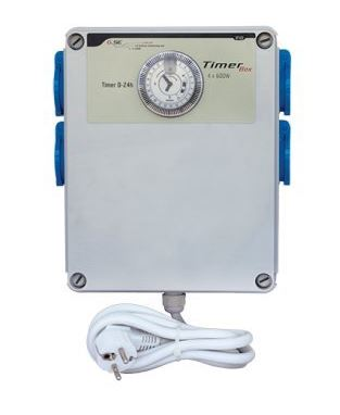 GSE - General System Engineering GSE Timer Box II 4x600W 220V