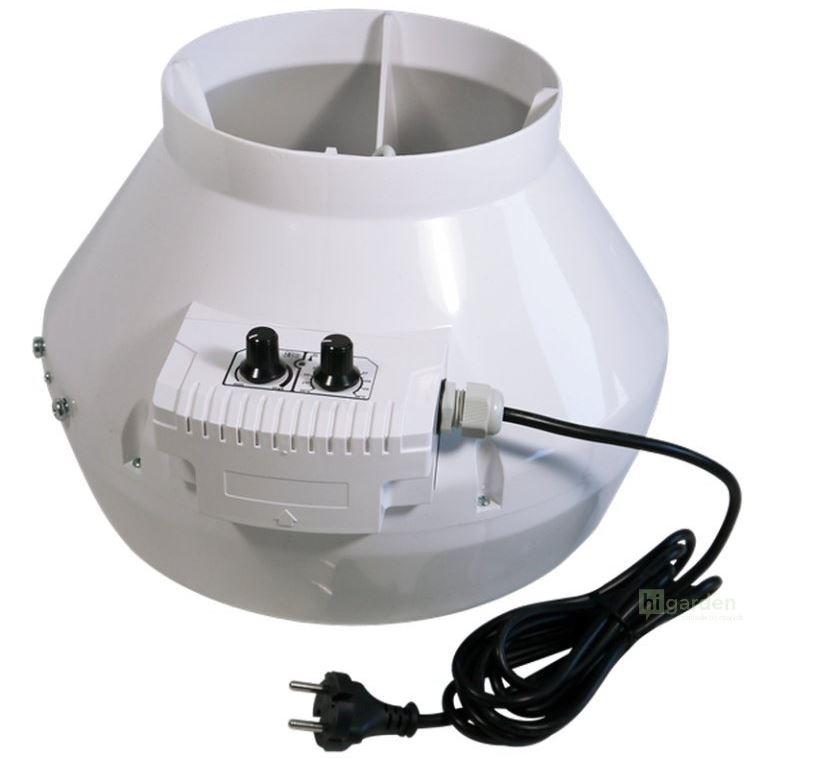 Vents Ventilátor VK 125 U - 355m3/h s termostatem