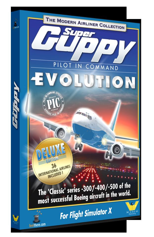 Titul Boeing 737-300/400/500 jako DOWNLOAD produkt ke stažení!