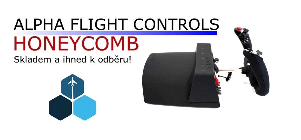 ALPHA FLIGHT CONTROLS - HONEYCOMB YOKE