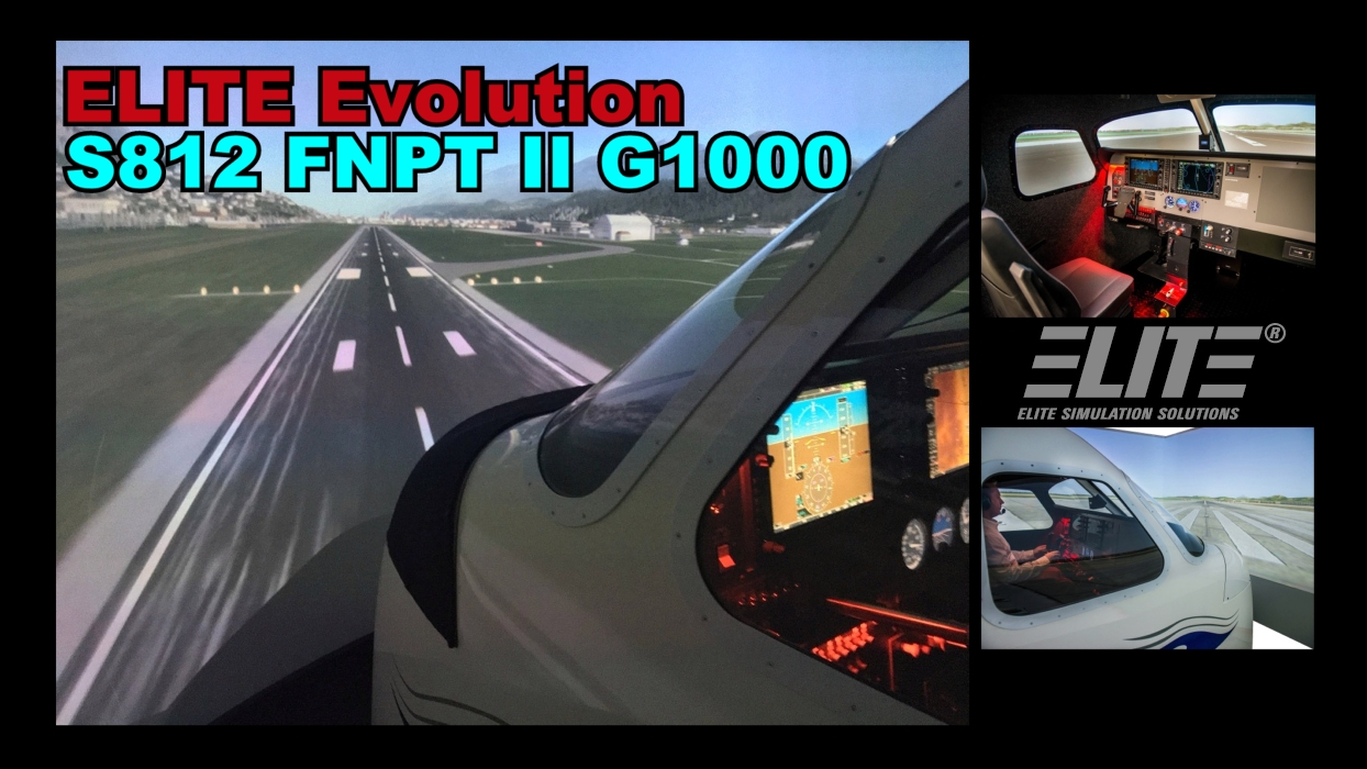 ELITE S812 FNPT II G1000