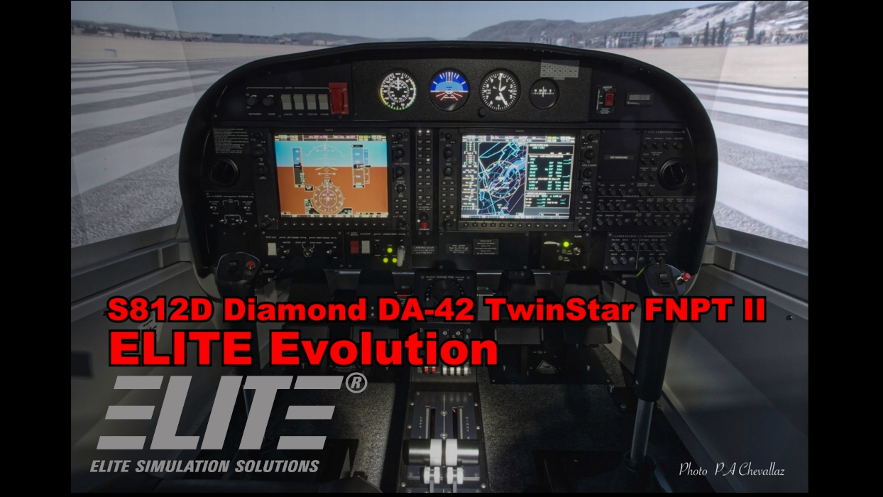 ELITE Evolution S812D Diamond DA-42 TwinStar FNPT II