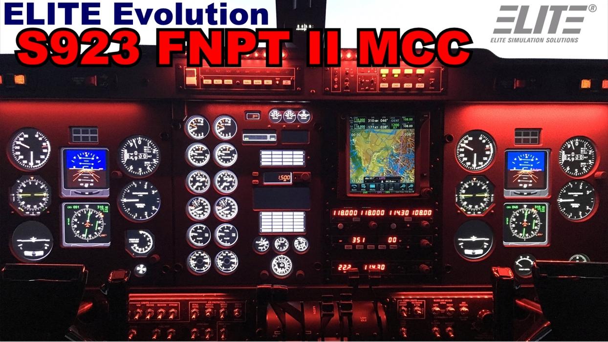 ELITE S923 FNPT II MCC