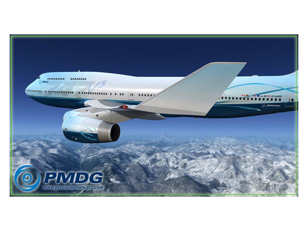 PMDG 747-400 V3 QUEEN OF THE SKIES FOR P3DV4 - High In The Sky
