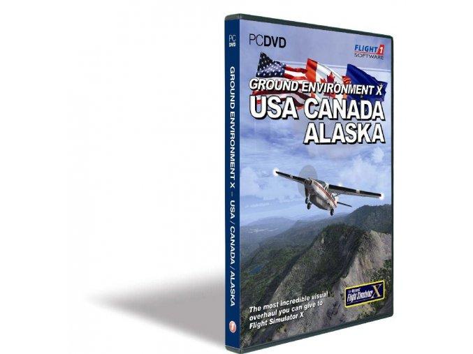 Ground Environment X: USA - CANADA - ALASKA