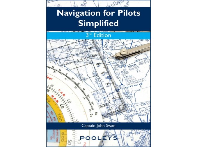Navigation for Pilots Simplified 3rd Edition (kniha o navigaci)