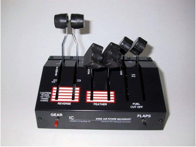 ELITE King Air Throttle Quadrant USB