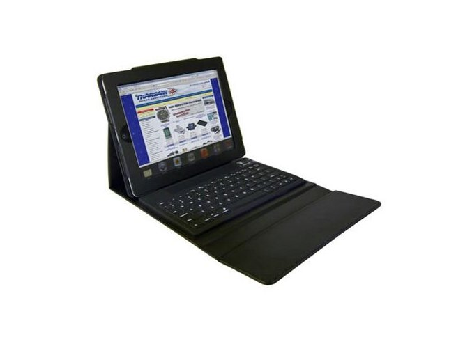 iPad Case With Bluetooth Keyboard