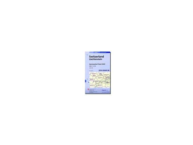 Swiss ICAO 1:500 000 CHART