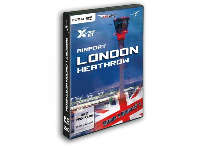 Airport London Heahtrow (X-Plane 10)