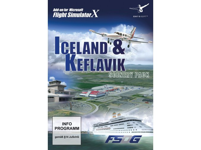 Iceland & Keflavik Scenery Pack