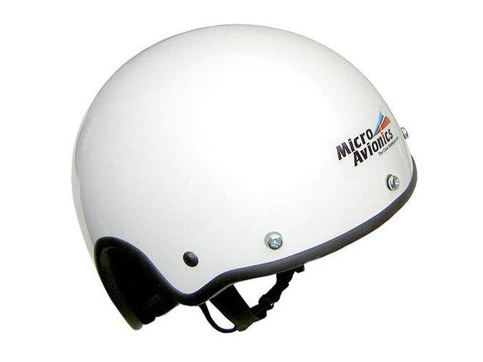 Microavionics MM021 Paramotor Helmet no Visor (Incl Fleece Neck warmer)