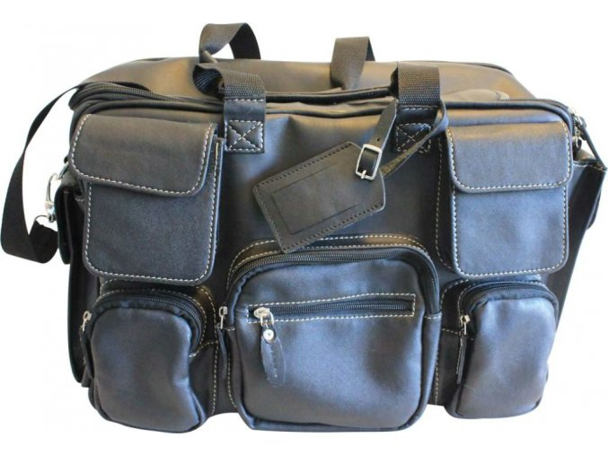 Mr. Pilot Leather Bag