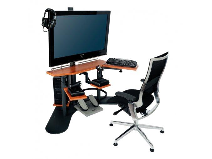 Desktop (letecký simulátor k pronájmu pro firemní akce)