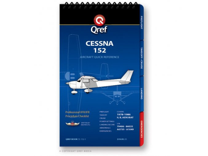 Qref CESSNA 152 CHECKLIST