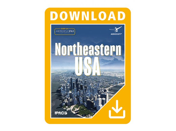 AeroFly FS 2 ADD-ON NORTHEASTERN USA (DOWNLOAD VERZE)