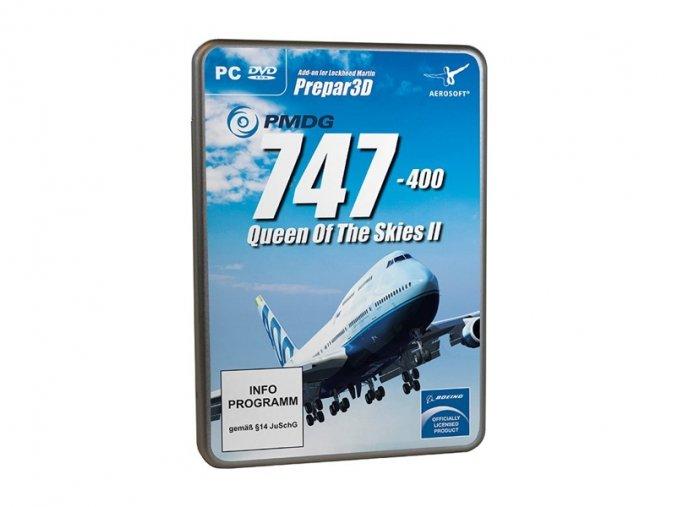 23264 pmdg 747 400 v3 queen of the skies for p3dv4