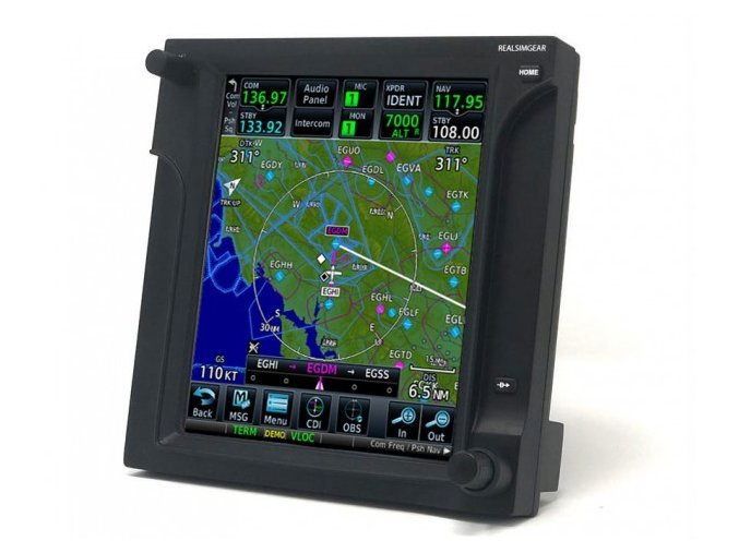 REAL SIM GEAR GARMIN GTN 750 GPS
