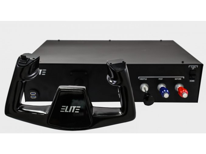 ELITE ALTURA Console CESSNA Style Yoke with timer