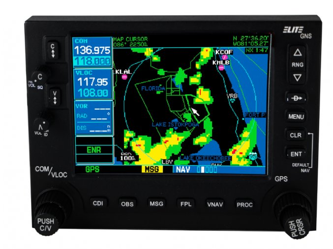 ELITE ALTURA GARMIN GNS 530 GPS replica