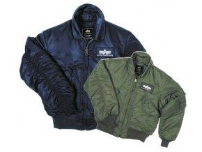 Alpha CWU-45P Flight jacket, Green (letecká bunda)