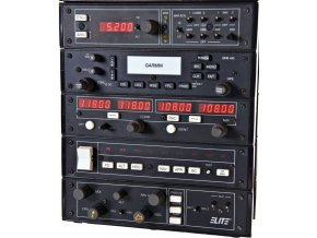 ELITE AP-4000 Avionics Panel Short Stack with GNS430 GPS