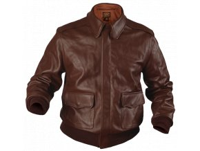 A2 LEATHER FLIGHT JACKET: ORIGINAL U.S.A.F.