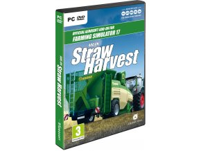 Packshot Straw Harvest 3D en