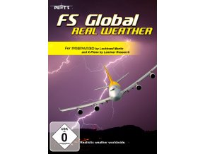 FS GLOBAL - REAL WEATHER FOR P3D V4 AND X-PLANE 11 (DOWNLOAD VERZE)
