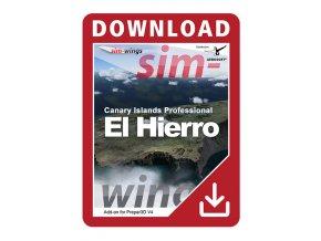 CANARY ISLANDS PROFESSIONAL - EL HIERRO FOR P3DV4 (DOWNLOAD VERZE)