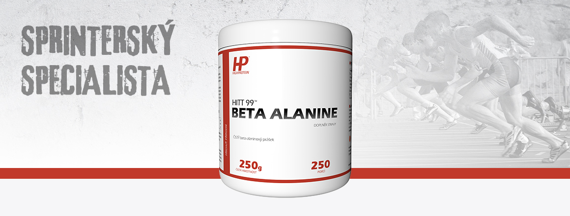 Zjistit více o HIIT 99™ Beta Alanine