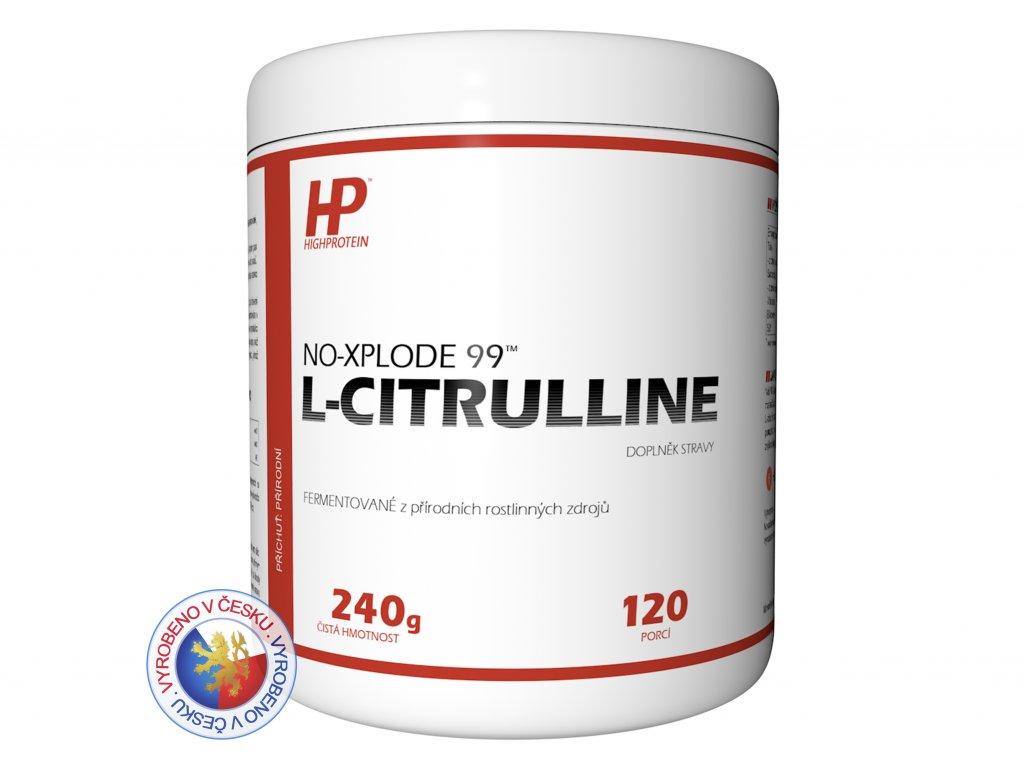 Dóza NO Explode 99™ L Citrulline HIGHPROTEIN cz 3