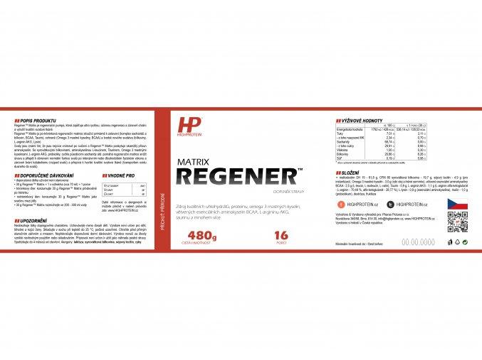 Regener™ Matrix HIGHPROTEIN 2