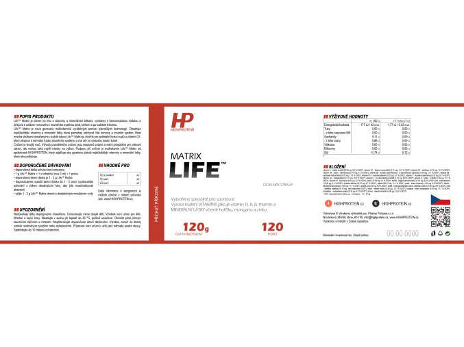 Life™ Matrix HIGHPROTEIN 3
