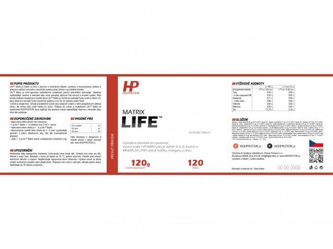 Life™ Matrix HIGHPROTEIN cz 8