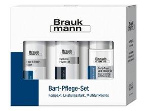 Braukmann Bart-Pflege-Set  BART set pro muže