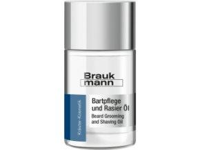 Braukmann Bartpflege und Rasier Öl  Olej po holení 30ml
