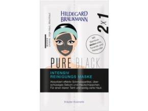 Limitierte Editionen Pure Black Intensiv Reinigungs Maske  Černá čistící maska 2 x 7 ml