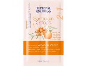 Limitierte Editionen Sanddorn Orange Verwoehn Maske 70014