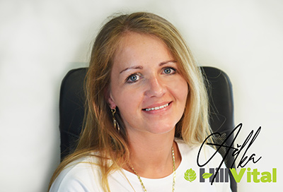 Adriana B. zákaznický servis   HillVital