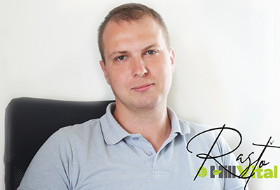 Rostislav M. manažer pro slovenský a český trh   HillVital